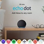 $49.99 All-new Echo Dot (4th Gen) | Smart speaker with Alexa | Charcoal