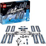 $59.99 LEGO Ideas International Space Station 21321 Building Kit, Adult Set for Display, Makes a…