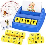 $5.24 Tesoky Matching Letter Game for Kids – Educational Toys for 3-8 Year Old Boys Girls Learn…