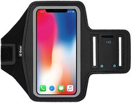 $3.00 i2 Gear Running Armband Phone Holder Compatible with iPhone 11 Pro Max, XS Max, XR, 8 Plu…