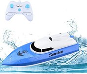 $9.60 WomToy RC Boat, 2.4GHz High Speed Remote Control Boats for Lake/Pool/Pond, Electric RC Ra…