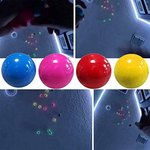 $3.30 Fluorescence Resistant Ceiling Sticky Balls – Squishy Glow Stress Relief Toys for Kids an…