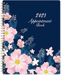 "$3.96 2021 Weekly Appointment Book / Hourly Planner 2021 – Weekly Planner 2021, 8"" x 10"", Jan. …"