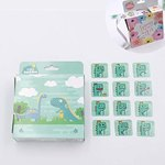 $4.80 200 Pcs Kids Sticker in 10 Designs,1-1/2 Inch Self Adhesive Label Party Supplies Roll Sti…