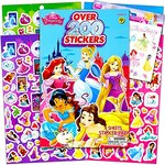 $3.95 Disney Princess Reward Stickers and Tattoos Bundle With Over 200 Stickers and Disney Prin…