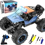 $12.00 BibGram Remote Control Car, RC Cars 1:18 Scale 20 Km/h with Rechargeable Batteries All Te…
