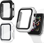 $5.00 Recoppa 3 Pack Apple Watch case with Screen Protector for Apple Watch 42mm Series 3/2/1, …