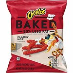 $12.74 Baked Cheetos Crunchy Flamin' Hot, Pack of 40