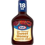 $0.97 Kraft Slow Simmered Sweet Honey Barbecue Sauce (18 oz Bottle)