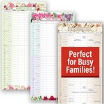 "$3.99 Mom's HQ Family Planner – 2021 Hangable Wall Calendars by Red Ember Press – 12"" x 24"" Whe…"