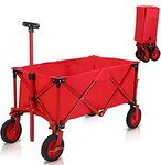$34.99 Gbrand Folding Wagon for Kids Portable Collapsible Cart 600D Oxford Cloth Easy to Clean,T…