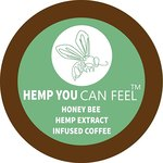 $18.49 Hemp You Can feel Organic Hemp from Bees infused Coffee, 12 count pods