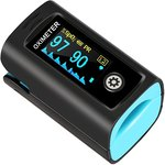$10.99 Belifu Fingertip Pulse Oximeter Blood Oxygen Saturation Monitor for Pulse Rate and SpO2 L…