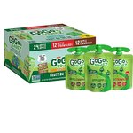 $16.49 GoGo squeeZ Applesauce, Variety Pack (Apple Apple/Apple Strawberry/Apple Cinnamon), 3.2 O…