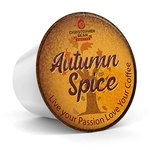 $7.99 Autumn Spice Single Cup (Regular), Holiday Coffee Christopher Bean Coffee. (18 Count Box)…