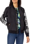 $39.06 Disney unisex-adult Villains X Heidi Klum Cast Your Curse Bomber Jacket