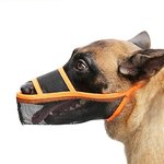 $3.15 Timos Dog Muzzle for Small Medium Large Dogs, Air Mesh Breathable Drinkable Pet Muzzle fo…