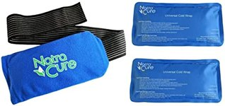 "$11.99 NatraCure Universal Cold Pack Ice Wrap – 2 Ice Packs w/ 1 Pouch – (5"" x 10"" Pouch with 24…"