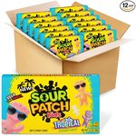 $9.03 SOUR PATCH KIDS Tropical Soft & Chewy Candy, Easter Candy, 12 – 3.5 oz Boxes