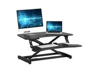 $95.99 Standing Desk with Height Adjustable – Stand Up Desk Converter, 34 inches Ergonomic Table…