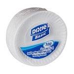 "$20.58 Dixie Basic 6"" Light-Weight Paper Plates by GP PRO (Georgia-Pacific), White, DBP06W, 1,20…"