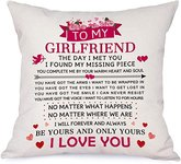 $3.20 Bonsai Tree to My Girlfriend I Love You Pillow Covers, Valentines Day Pillow Cases, Bless…