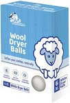 $3.75 Wool Dryer Balls – Extra Large | White | Pack of 6