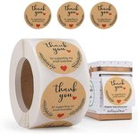 $2.79 Thank You Stickers, Thank You for Supporting My Small Business Stickers,Round Labels with…