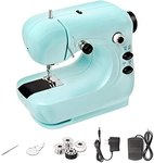 $14.99 Sewing Machine, YUEMIDAMY Portable Electric Sewing Machine Small Lightweight Handheld Sew…