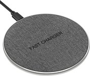 $3.49 Wireless Charging Pad, Ultra Slim Qi-Certified Wireless Charger for iPhone 11/11 Pro/11 P…