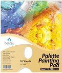 $4.00 Bellofy Palette Painting Pad – Disposable 50 Sheets – 9×12 inches, 24lb / 65GSM – Perfect…