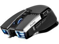 $29.99 EVGA X17 Gaming Mouse, Wired, Grey, Customizable, 16,000 DPI, 5 Profiles, 10 Buttons, Erg…