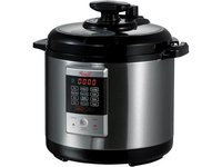 $42.49 Rosewill 6 Qt. Electric Pressure Cooker, 8-in-1 Programmable Multi Cooker: Slow Cooker, R…